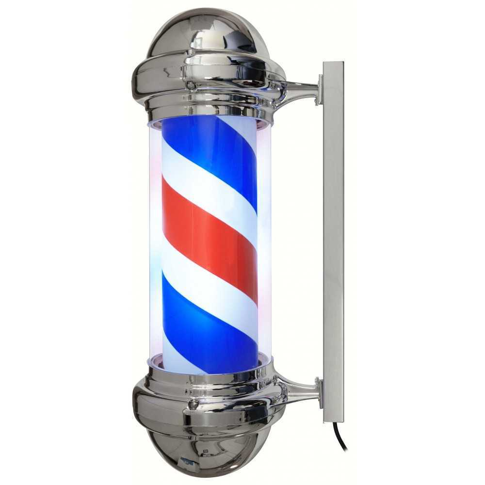 Jacques Seban Pole barbier enseigne de barbier