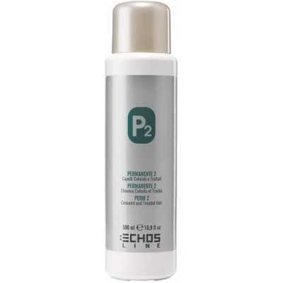 Echosline Permanente P2 cheveux colores et traites 500 ml