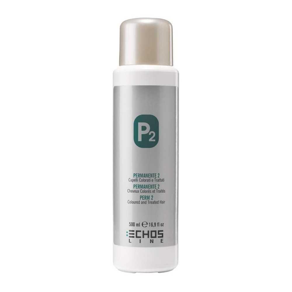 Echosline Permanente P2 cheveux colores et traites 500 ml