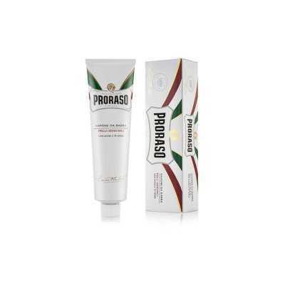 Proraso tube de crème rasage sensibles the vert