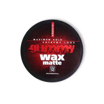 Gummy Cire Cheveux, Coiffante (wax) Matte Keratine 150ml