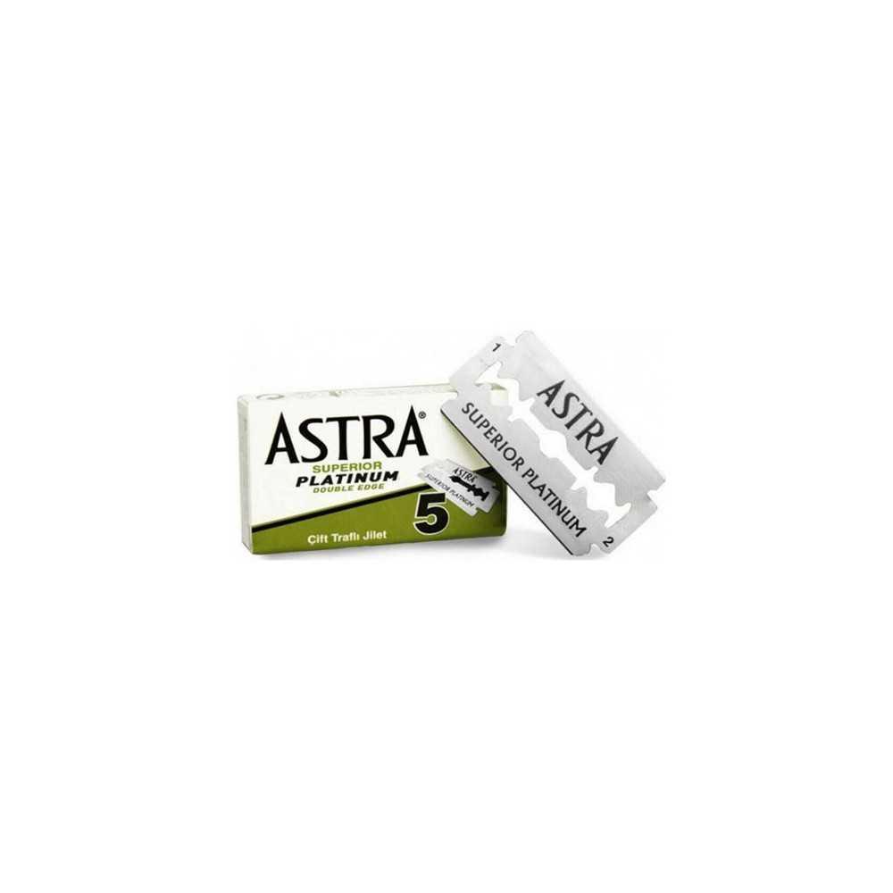 Astra Double Lame Platinum x5 Lames