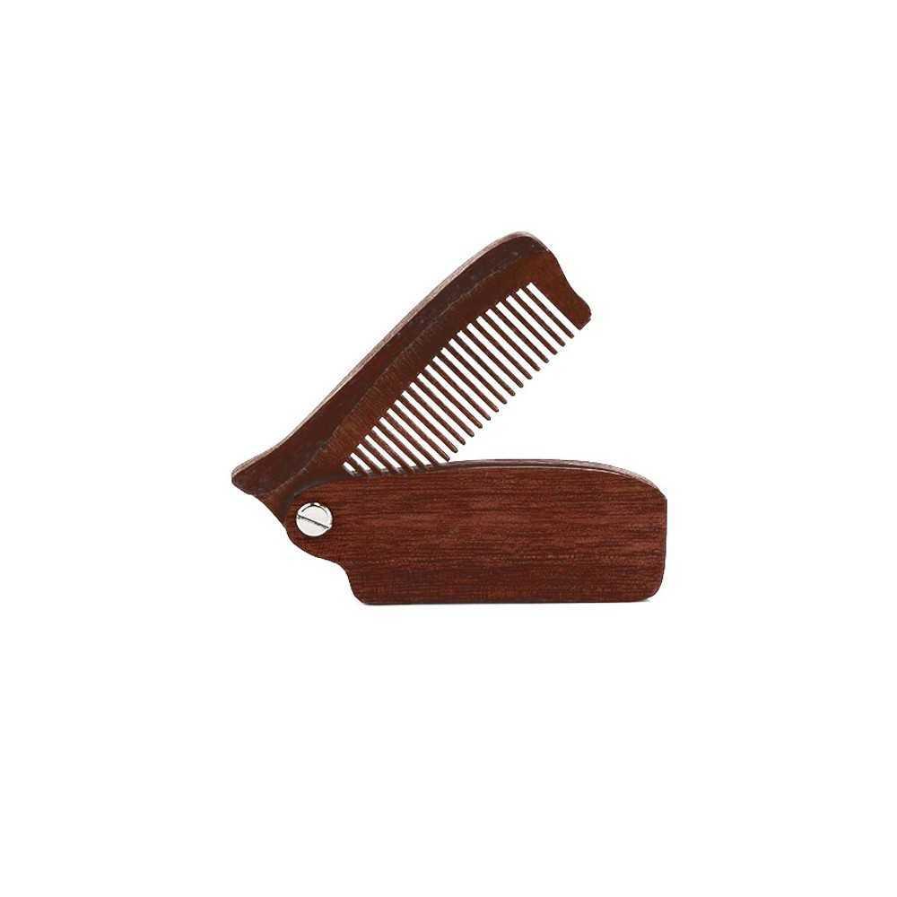 Peigne à barbe en bois antistatique Ningbo