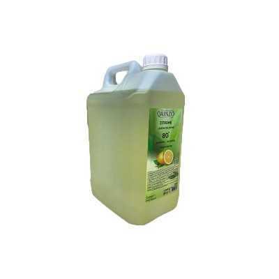 Eau de cologne désinfection en spray parfum citron 5 Lt