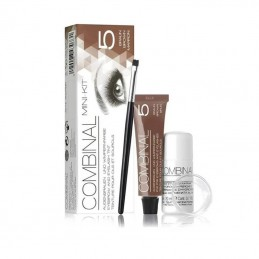 Combinal Mini Kit coloration cils et sourcils Brun-Marron